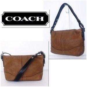 Coach Soho Honey Large Grain Pebble Leather Bag